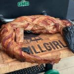 Whole Smoked Gator on the Green Mountain Grill Pellet Smoker
