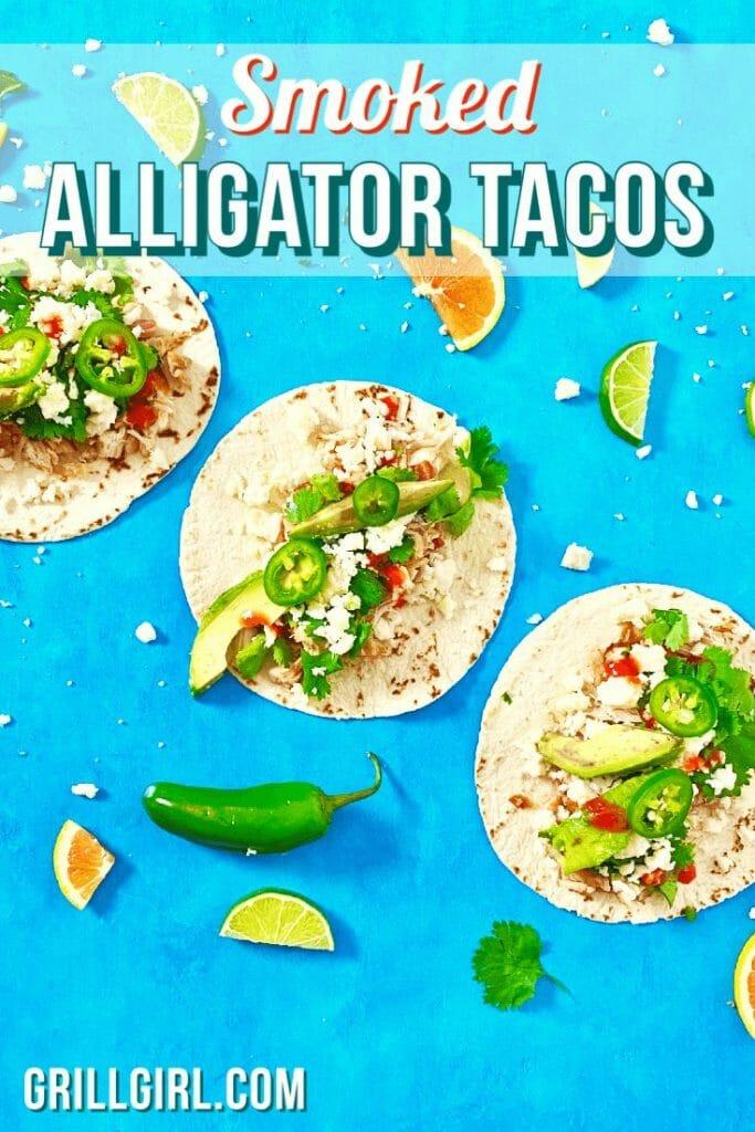 alligator recipe_alligator tacos